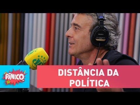 Alexandre Borges prefere manter distância da política | Pânico