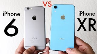 iPHONE XR Vs iPHONE 6! (Should You Upgrade?) (Speed Comparison) (Review)