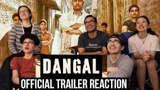 MaJeliv Reactions: DANGAL | Aamir Khan | Official Trailer Reaction || Family love and hard work!!
