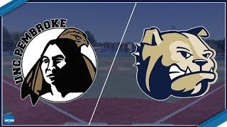 NCAA Division II Baseball - UNC Pembroke at Wingate thumbnail