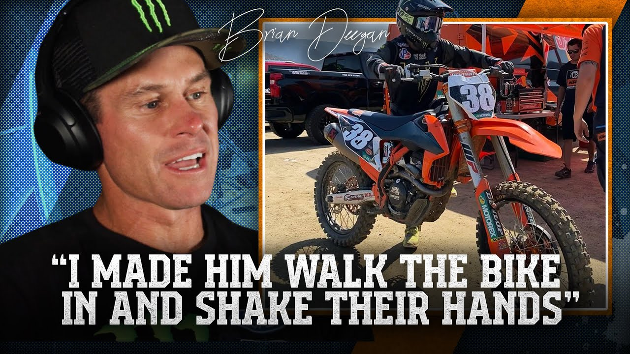 """""""It came down to the last minutes on the clock"""" Brian Deegan tried to make Factory KTM deal work"""