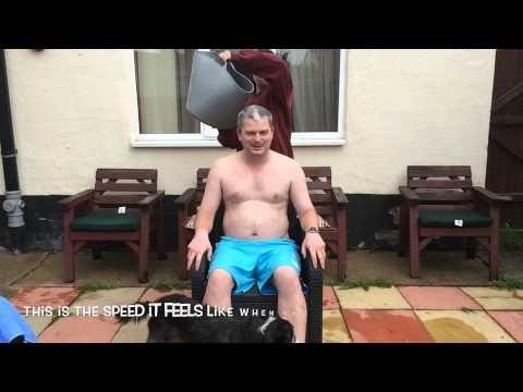Stephen Barlow.  My Ice Bucket Challenge.