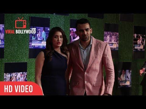 Zaheer Khan and Sagarika Ghatge Newly Engage Couple at Sachin a Billion Dreams Grand Premiere