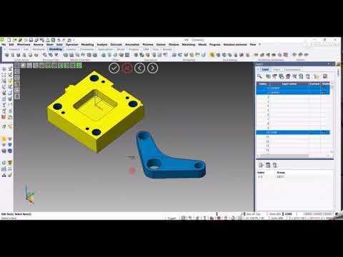 CAD - Edit faces | VISI 2022.0