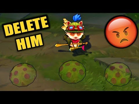 pls delete teemo from league of legends thumbnail