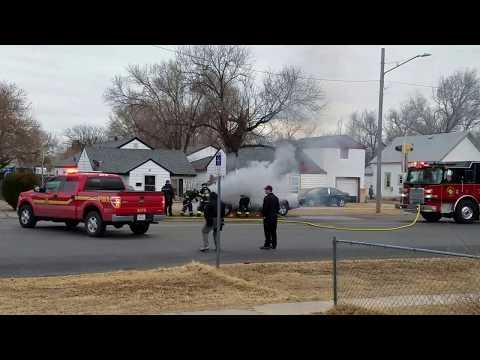 Garden City, KS Truck Fire, Main Street