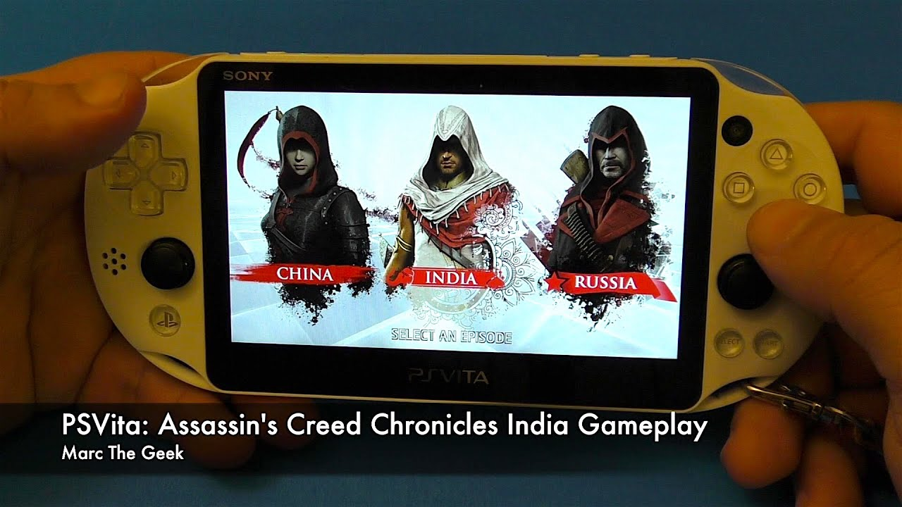 Psvita Assassin S Creed Chronicles India Gameplay Youtube