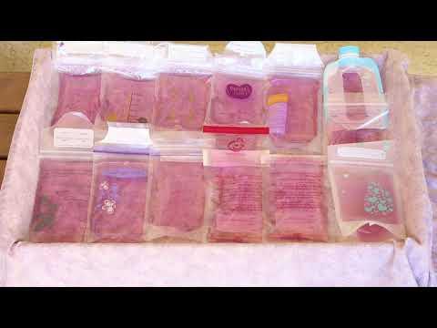 Breast Milk Storage Bag Review12 bags!