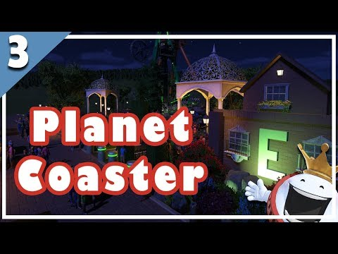 🎢 Let's Play Planet Coaster 🎢#3 Vista Points!