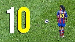 Ronaldinho'nun Yaptığı Bu 10 Hareket Dünyayı Şokladı