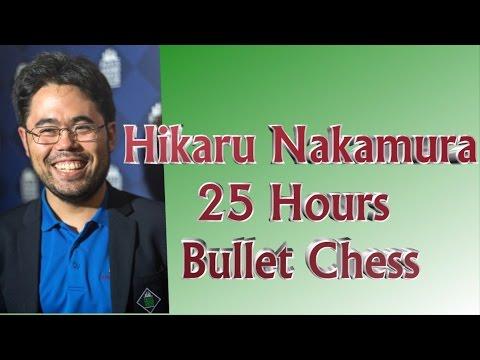 ♚ Hikaru Nakamura 25 Hours of Bullet Chess 🔥Chess com 💥