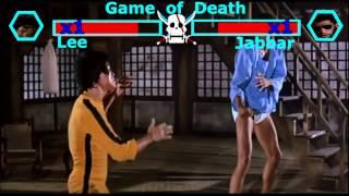 Bruce Lee VS Abdul-Jabbar丨Game of Death