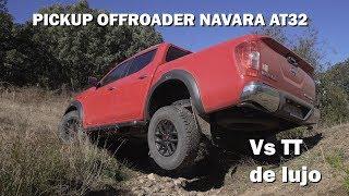¿Puede una Pickup competir con un TT de lujo? NISSAN NAVARA offroader AT 32