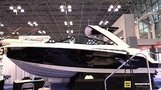 2015 Cruisers Yachts 328 SS Sport Series - Walkaround - 2015 New York Boat Show