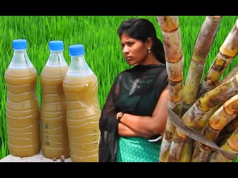 3 Liters of Sugar cane juice in 3 Bottles | A machine used to extract sugarcane juice in 3 bottles