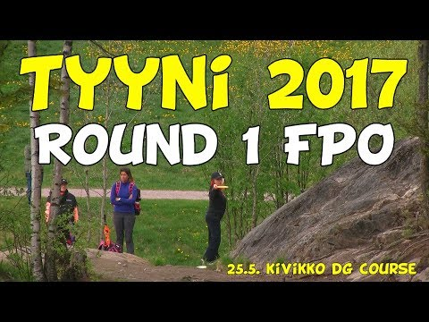 lcgm8 Disc Golf - Tyyni 2017 Round 1 FPO