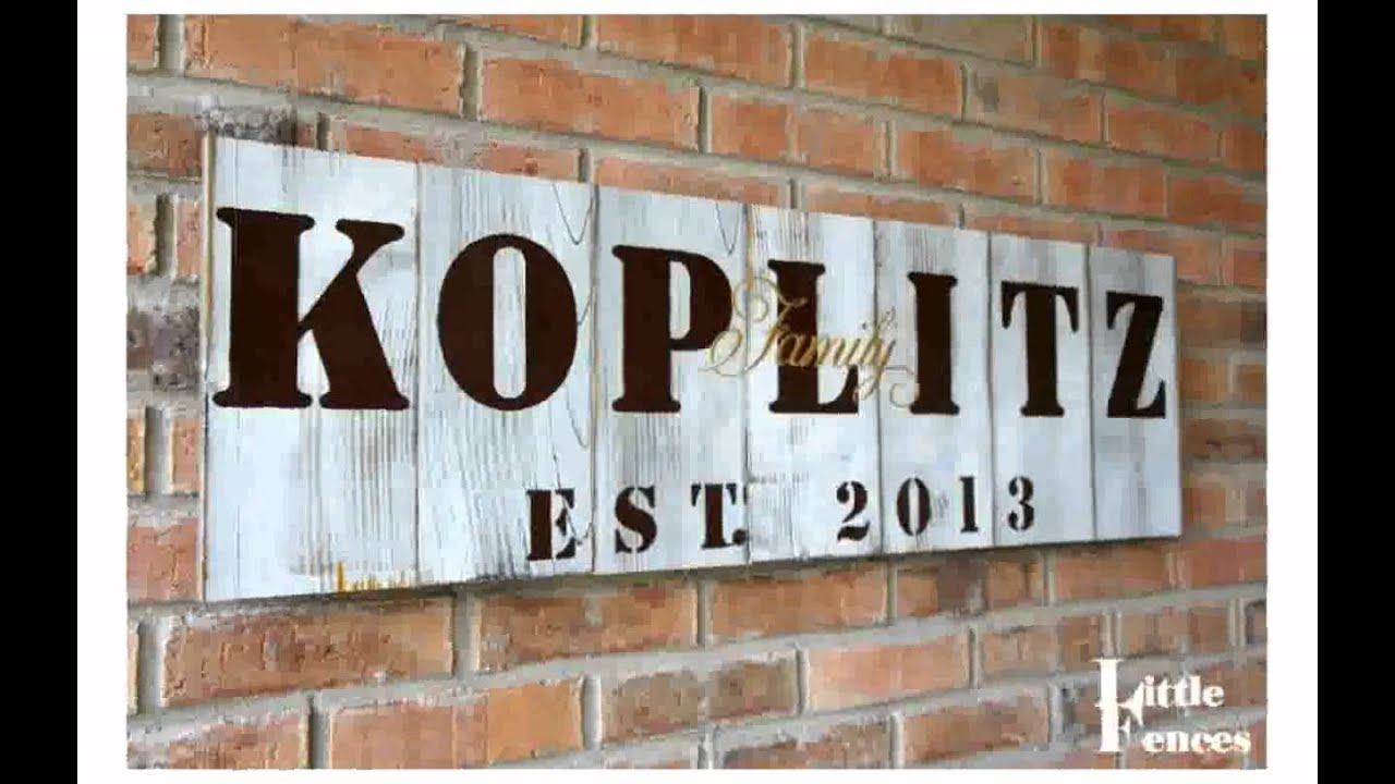 Decorative Signs For Outdoors