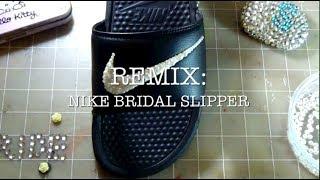 Nike Pearl Bridal Slipper | Remix