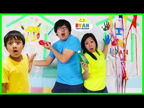 Painting T-Shirt Coloring Challenge!!!