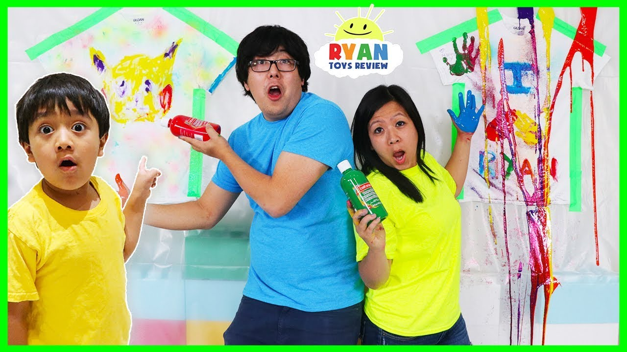 painting tshirt coloring challenge!!!  youtube