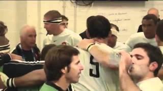 Finale rugby 2011 France Nouvelle Zélande vue des vestiaires (les coulisses du sport 2)