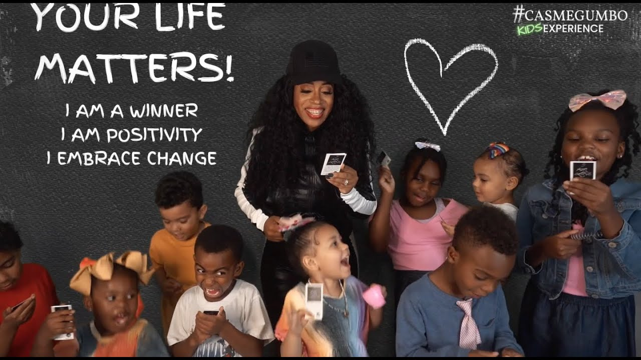 """""""Daily Affirmations for Kids"""" Premier at 12pm (cst) Oct 23rd! #CasmeGumbo"""