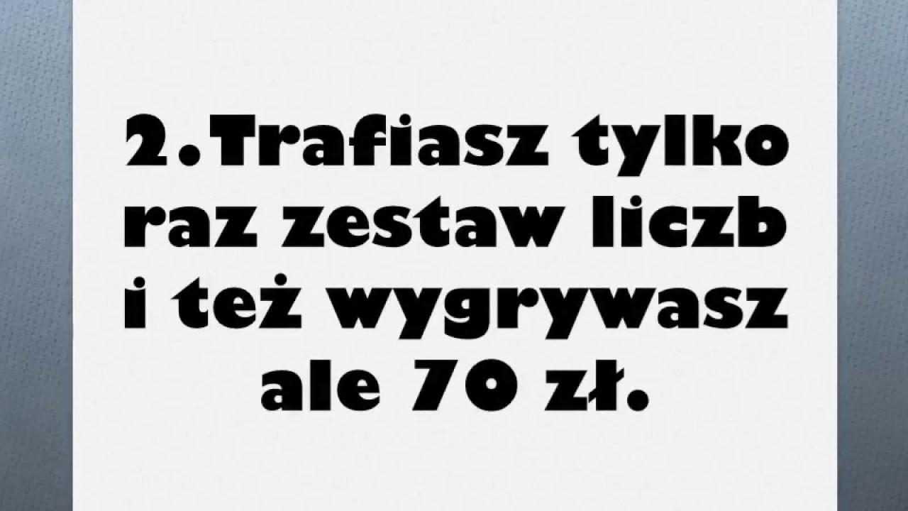 lotto - prosty sposób na wygraną 140 zł za 20 zł inwestycji