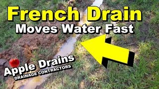 French Drain Removes Standing Water MP3