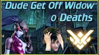 """Get Off Widow""... ZERO Death Top 500 Widow Overwatch Smurf"