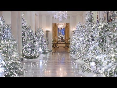 Primera dama de estados unidos decora la casa blanca para - Decoracion estados unidos ...