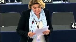 Intervento in aula di Caterina Chinnici sulla relazione annuale del comitato di vigilanza dell'OLAF