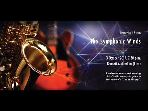 University of Southern Mississippi Symphonic Winds in Concert