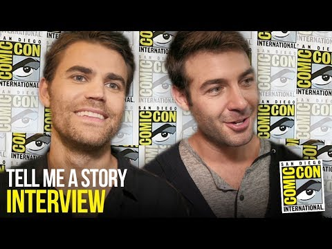 Paul Wesley & James Wolk Explain Fairy Tale Drama TELL ME A STORY at Comic Con 2018