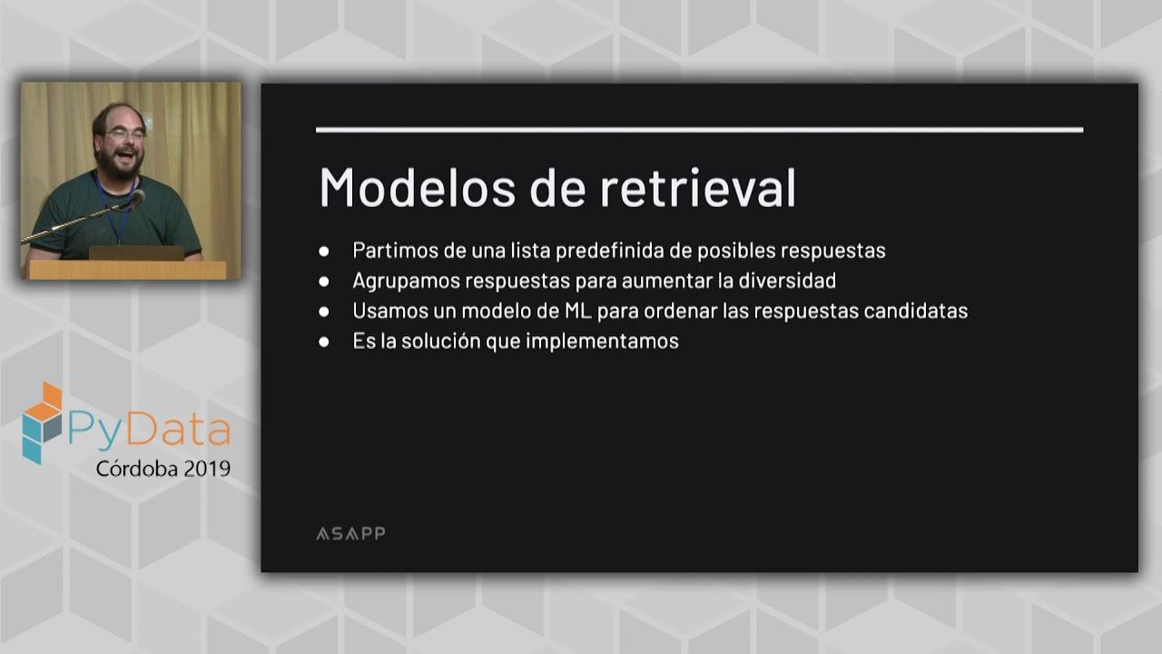 Image from Andres Pipicello: Sugerencias automáticas en sistemas conversacionales | PyData Córdoba