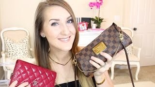 lv eva clutch review chanel woc i love small bags