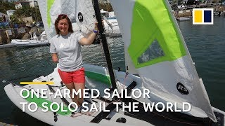 One-armed sailor Hannah Stodel to sail solo around the world