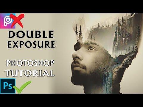 Double Exposure Effect - Photoshop Tutorial 2018 thumbnail