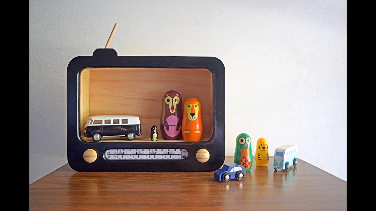 Handmade Childrenu0027s Wooden Decor Creators Video   Bear U0026 Sparrow