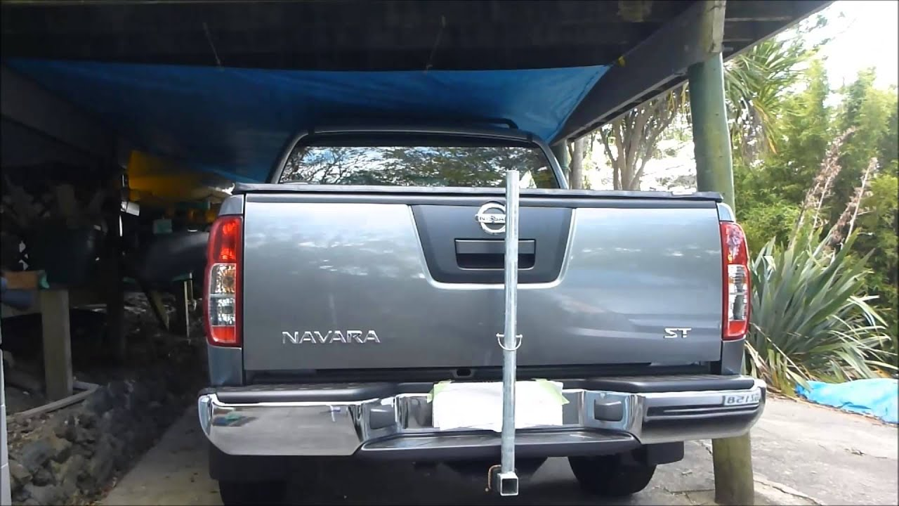 Kayak Racks For Pickup Trucks >> DIY Kayak Loader / Towbar Support - YouTube