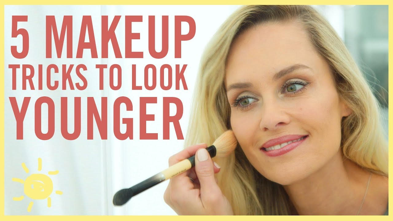 STYLE & BEAUTY | 5 Makeup Tricks To Look Younger - YouTube - photo#1