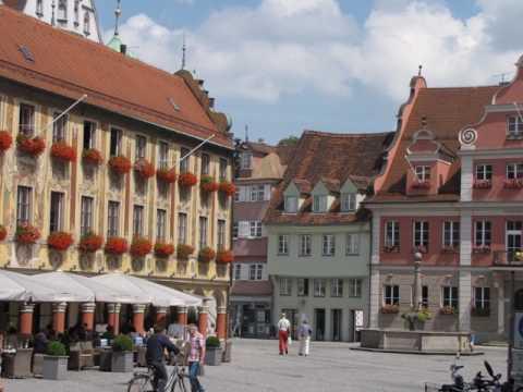 Memmingen  Bayern Deutschland Germany