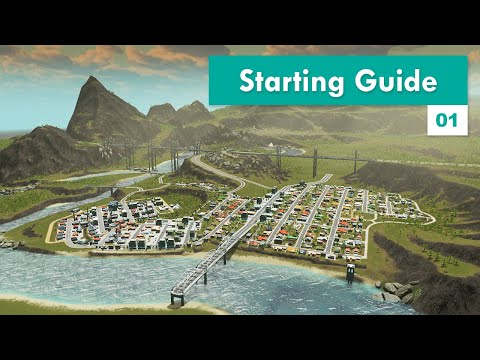 Beginners Guide to Start in Cities: Skylines – Design and Manage S3E01