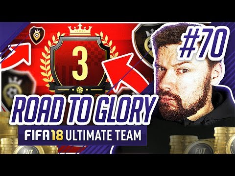 3RD IN THE WORLD REWARDS!! - #FIFA18 Road to Glory! #70 Ultimate Team