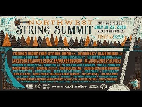 Northwest String Summit 2018 Lineup