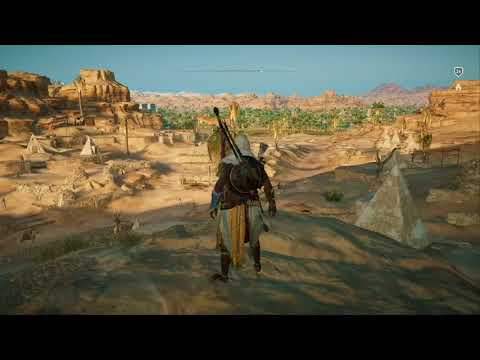 Assassin's Creed Origins - Papyrus Puzzle: Valley Market (Location&Solution)