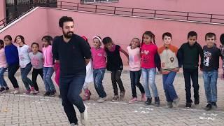 Mardin Gökçe İlkokulu Halay Halk Oyunları 23 Nisan Prova