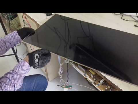 LCD LED TV POLORIZER GLASS REPLACEMENT BY TRAINER VINOD KENNY