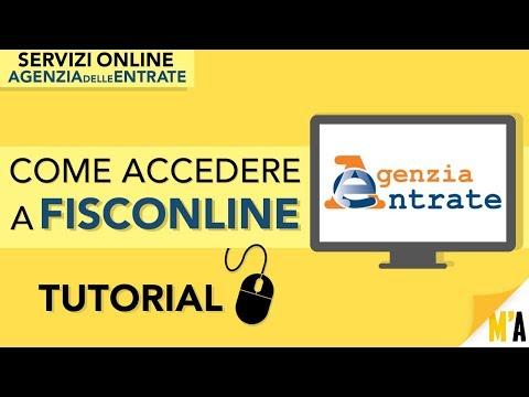 Come Richiedere PIN FISCONLINE (TUTORIAL) - Servizi Online AGENZIA DELLE ENTRATE