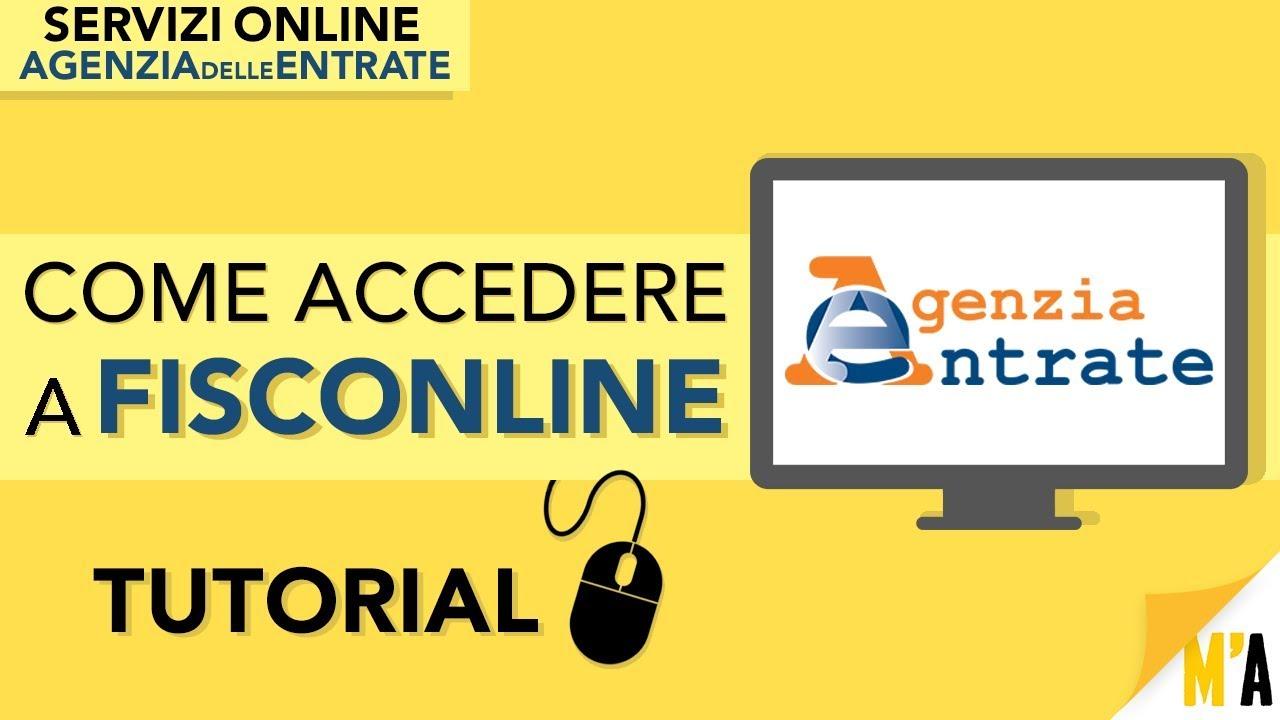 come richiedere pin fisconline tutorial servizi online