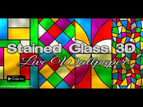 Stained Glass 3D Live Wallpaper for Android